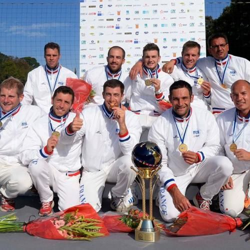 Trois Montpelliérains dans l'équipe de France de kayak polo championne du Monde