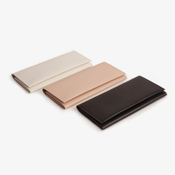 $48 minimalist wallet vegan leather room for check book poketo