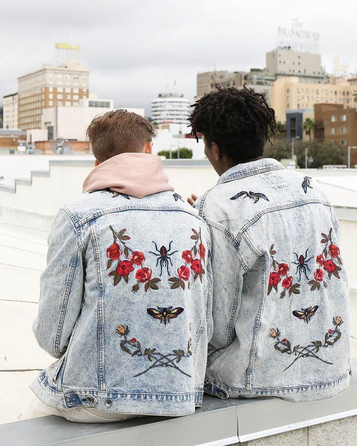 Embroidered jackets floral urban outfitters aesthetics tumblr hipsters fashion photography ideas inspiration portraits