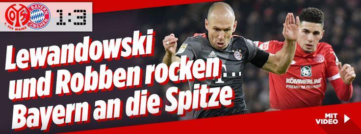 Mainz gegen Bayern im Liveticker