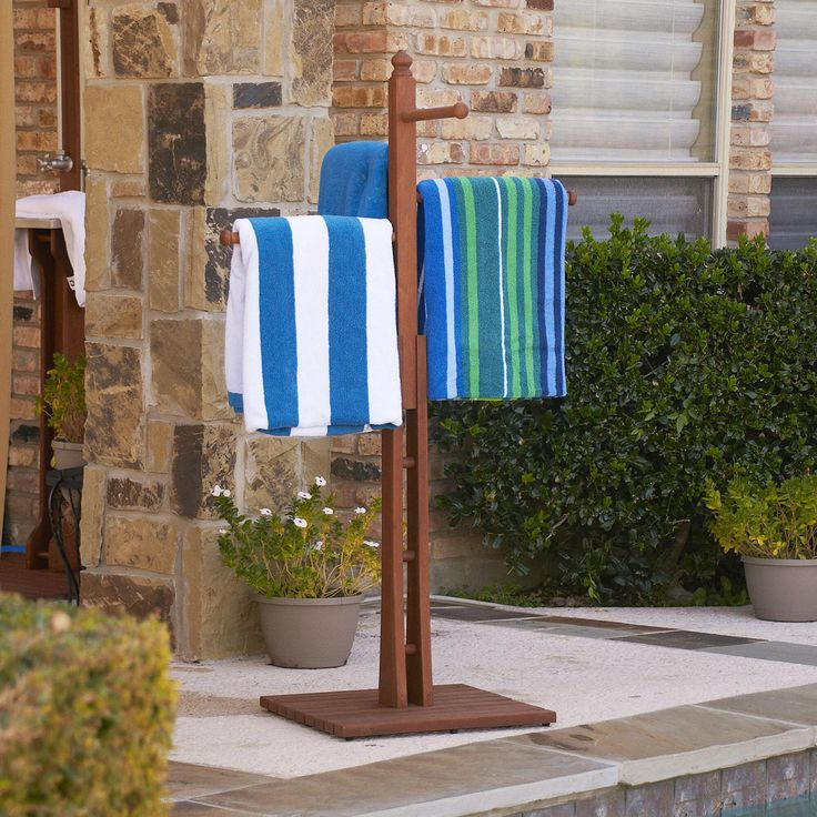 17 Best ideas about Outdoor Towel Racks on Pinterest