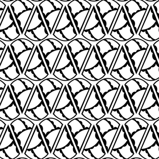 Seamless Pattern Geometric Abstract Vector Wallpaper Texture Design Background Black Textile Repeat W Seamless Patterns Geometric Pattern Geometric