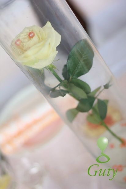 Flower wedding decor Kvetinová svadobná výzdoba