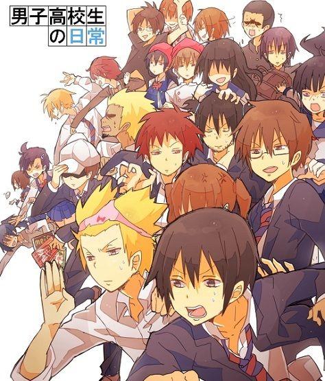 Anime Batch Comedy: 17 Best Danshi Koukousei No Nichijou Images On Pinterest