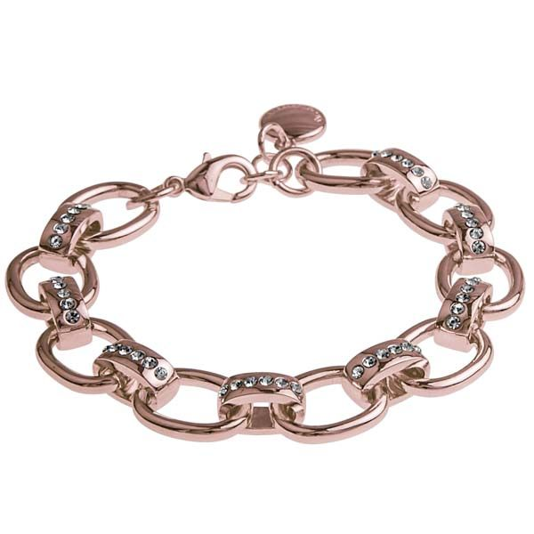 SNÖ Of Sweden - Lazee Chain Bracelet Light Rose/Clear - 625-3200255