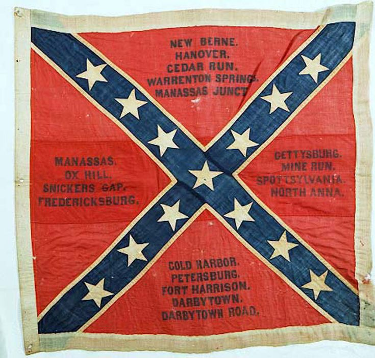civil war flags south
