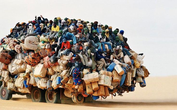 Matt Long ‏@LandLopers 60 min  via @TelegraphTravel Unbelievable pictures of Africa's most overloaded vehicles http://ht.ly/AW8Bz
