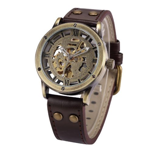 Vintage Bronze Roman Automatic Watch | Top Bronze Anniversary Gift Ideas for Men