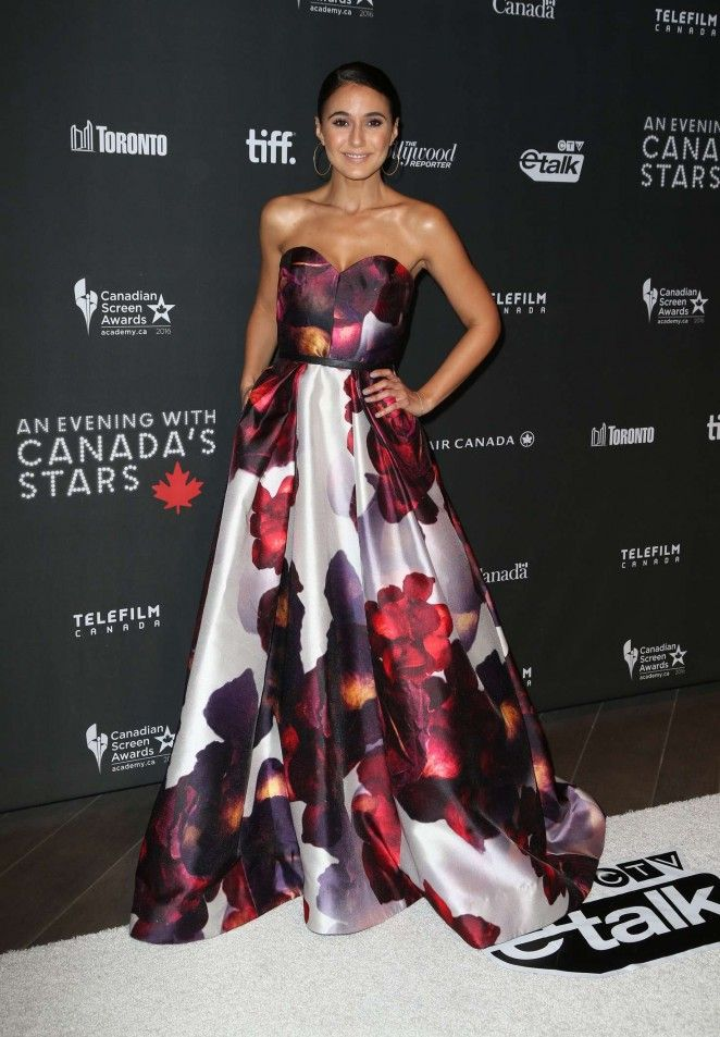 Emmanuelle Chriqui 3rd Annual An Evening With Canada's Stars in Beverly Hills