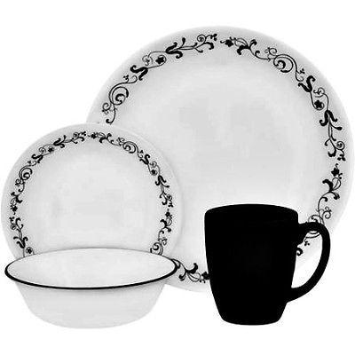 Corelle Livingware 16-Piece Dinnerware Set Garden Getaway Service for 4  sc 1 st  Pinterest & 67 best Set The Table images on Pinterest | Dinnerware Cutlery and ...