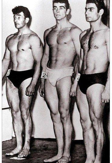 Mister Universum - Sean Connery 80. Geburtstag - In seiner Jugend hatte Sean Connery einige Gelegenheitsjobs. Bevor er Schauspieler wurde, arbeitete er als Lastwagenfahrer, Nacktmodel, Sargpolierer und sogar - relativ erfolgreich - als Bodybuilder...