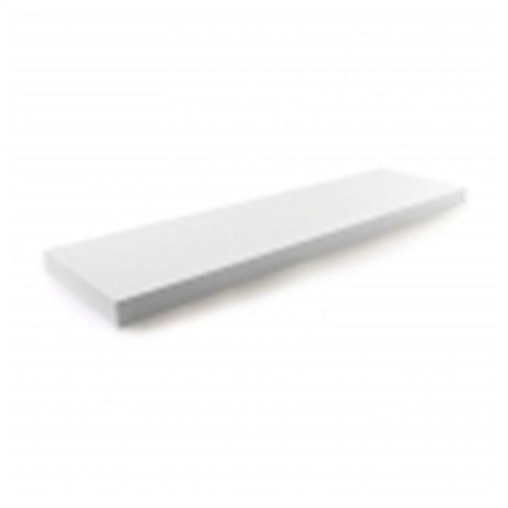 Handy Shelf 900 x 240 x 40mm White Matt Floating Shelf