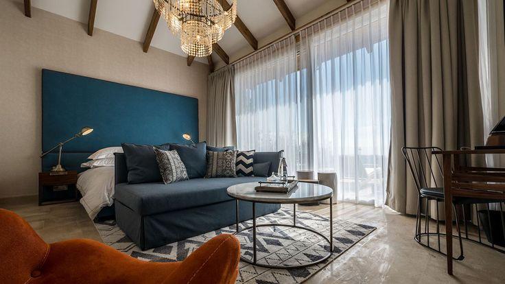 Chaque chambre est confortablement meublée et possède une superficie de 35 m²