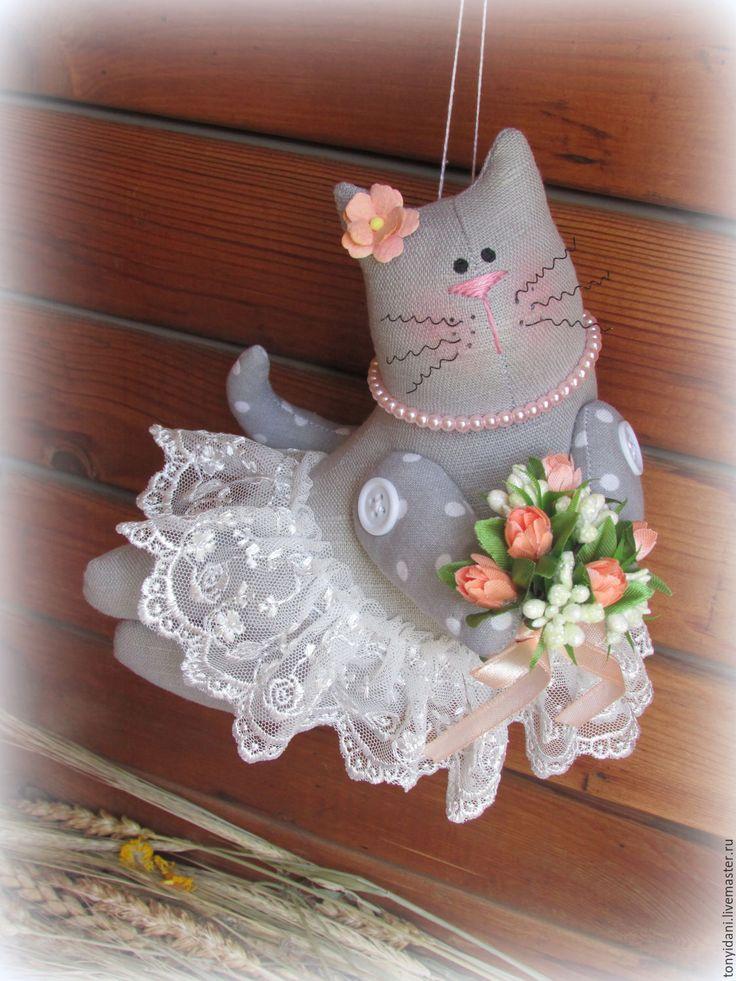 Купить Летящая кошечка Тильда Валентина - кошка, Кошки, кошечка, котики…