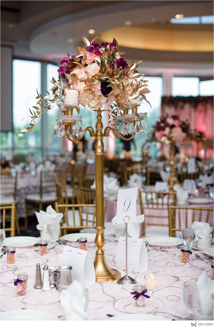 wedding halls st paul mn%0A Stunning Floral Centerpiece in the Great River Ballroom