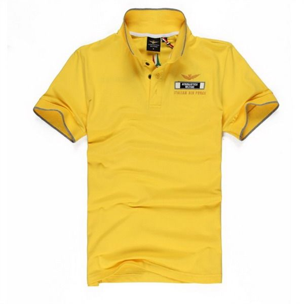 cheap ralph lauren polo shirts Aeronautica Militare Italian Air Force Short Sleeve Men's Polo Shirt Yellow http://www.poloshirtoutlet.us/