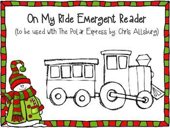 Polar Express Emergent Reader freebie
