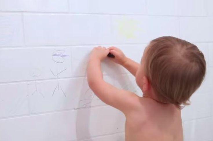 Si vos enfants n'aiment pas l'heure du bain ou qu'ils adorent dessiner (en particulier sur tout ce qui ne ressemble pas à une feuille de papier), cette idée pourrait vous servir. En effet, l'heure du bain n'est pas toujoursune partie de plaisir. Il faut trouver des astuces pour que ce moment soit signe d'amusement pour...
