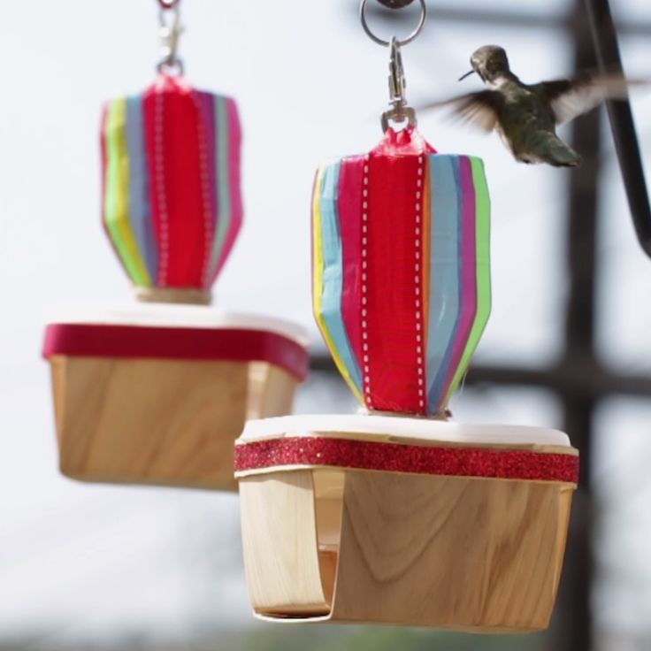 Rainbow Hummingbird Feeder