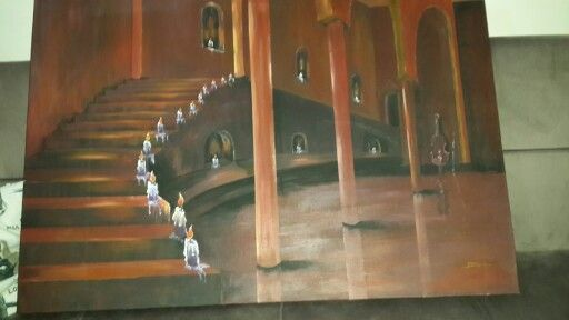 Akrilik boya tablo - Jülide Başak