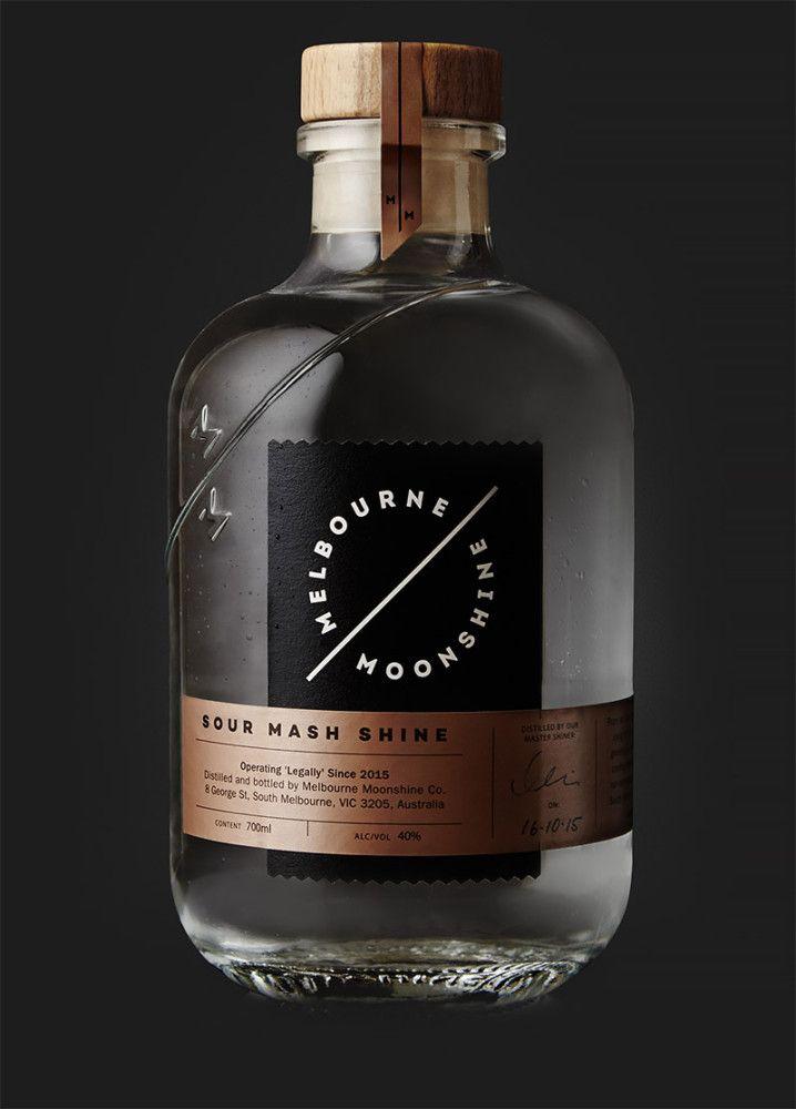 Melbourne Moonshine: Branding & Packaging by Sense | Inspiration Grid | Design Inspiration