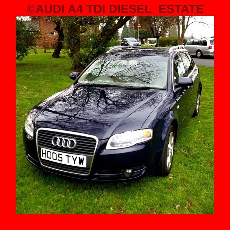 2005 AUDI A4 SE TDI DIESEL BLUE ESTATE  ALLOYS LEATHER INTERIOR FULL HISTORY  in Cars, Motorcycles & Vehicles, Cars, Audi | eBay!