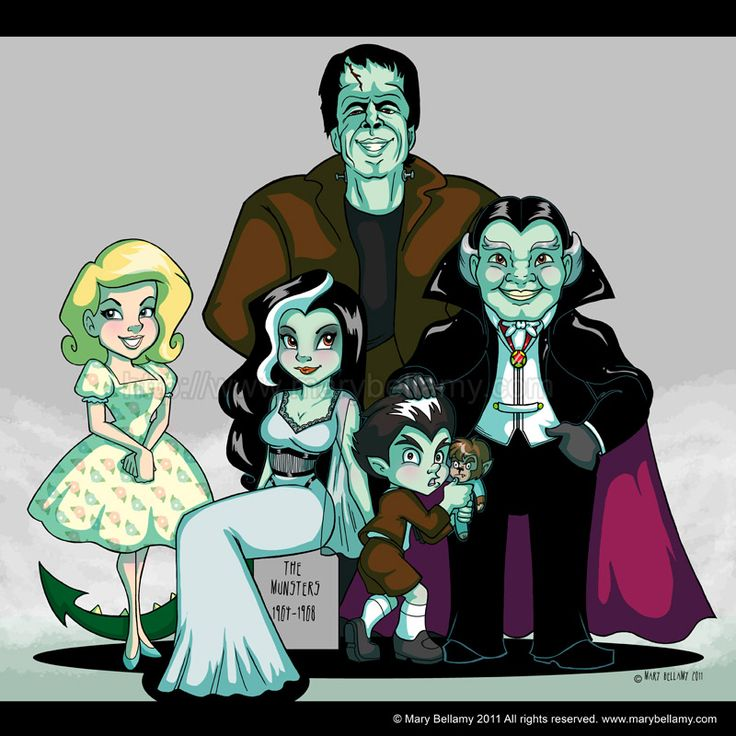 1000 Images About The Munsters