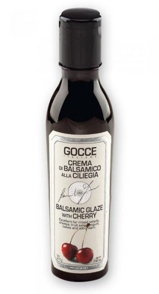 Gocce Italiane - Balsamic Glaze with Cherry