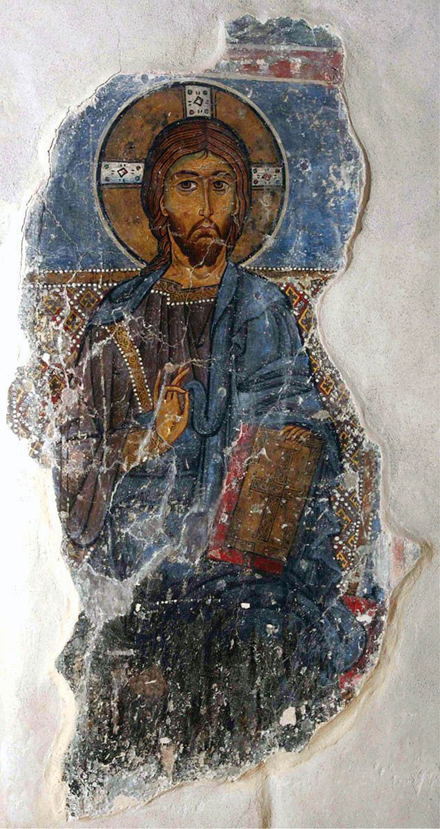 Eight hundred years ago, Byzantine monks painting the walls of a monastery in Cyprus made the aesthetic choice to use asbestos—heat-resistant mineral fibers now known to be highly carcinogenic—to give their work an extra sheen. University of California, Los Angeles,