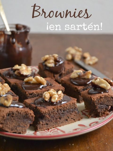 Brownies ¡En sartén! Sin horno | Brownie in pan. No oven Cuuking!