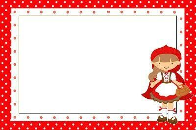 Kırmızı Başlıklı Kız Temali Ücretsiz Parti Seti