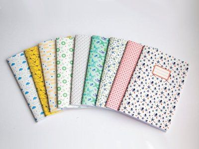 There's something oh-so right about starting a fresh new notebook on a Monday morning - so many possibilities, a blank canvas, and all that jazz. We especially love these beauties from Vert Cerise.