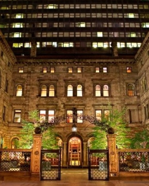 On a busy stretch of Madison Avenue, the New York Palace lives up to its name. #Jetsetter