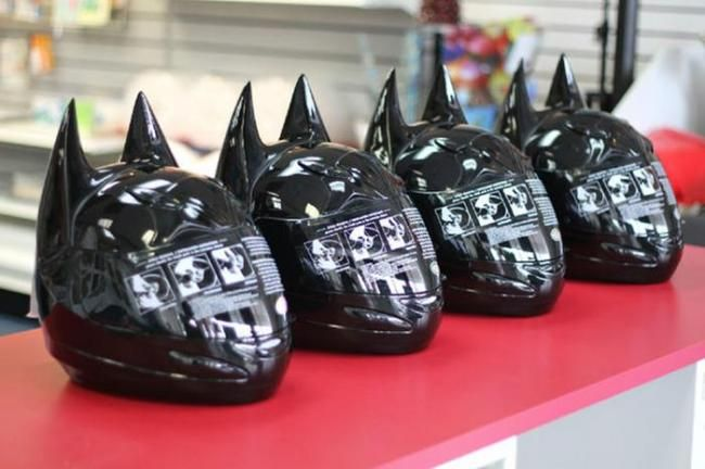 Helm Mirip Kepala Batman, Harganya Rp 3,9 Jutaan - Vivaoto.com - Majalah Otomotif Online