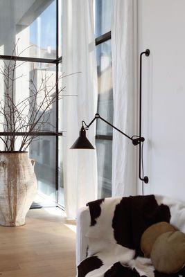 Applique N°214 Noir satiné - DCW éditions - Lampes Gras
