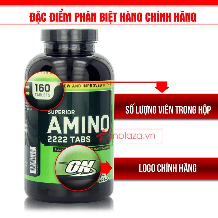 Tăng cơ amino 2222 tabs 160 TH028