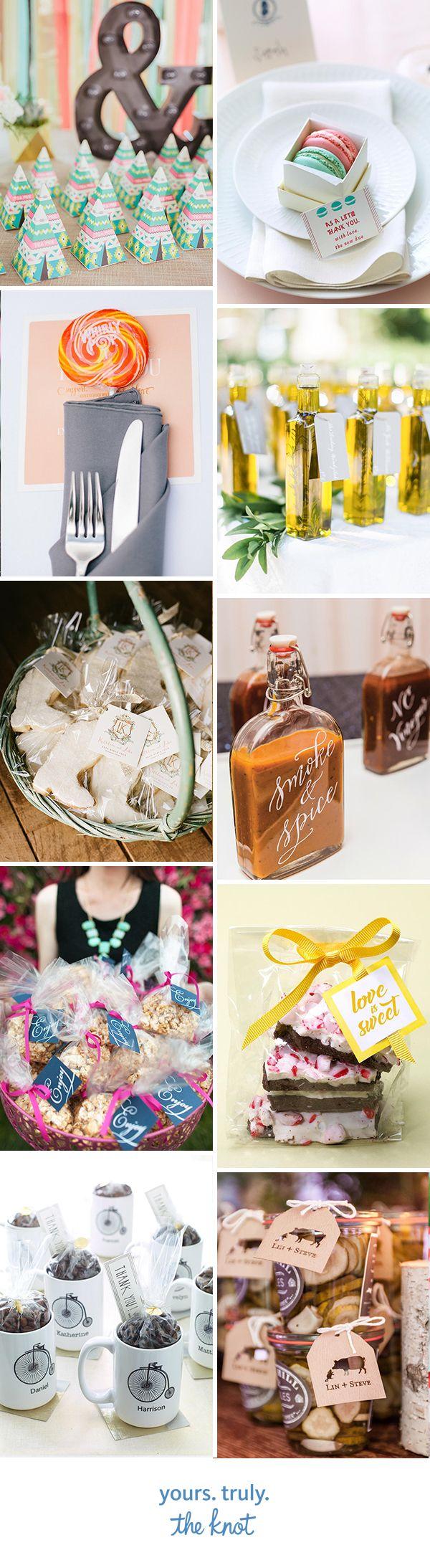 15 Creative Edible Wedding Favor Ideas 706
