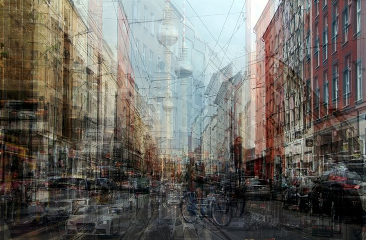 Urban Melodies: Photographer layers multiple images to create stunning city artworks | Creative Boom