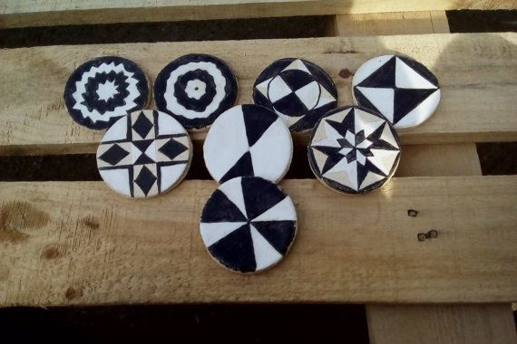 Geometrical souver by Muddymood on Etsy