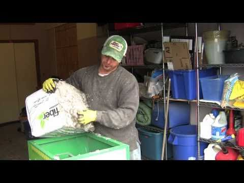 Cellulose Insulation -How To Install Blown Insulation by Yourself - YouTube Corey Binford