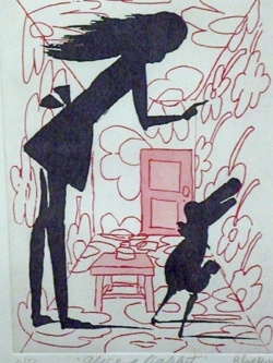 charles blackman - 'alice and rabbit'.