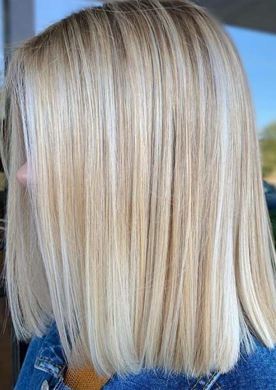 Wanna Wear Some Kind Of Best Hair Colors Or Hairstyles In 2019 Just Check Out The Best Ever Shades Of Blonde Blonde Bob Haircut Blonde Blunt Bob Bobs Haircuts