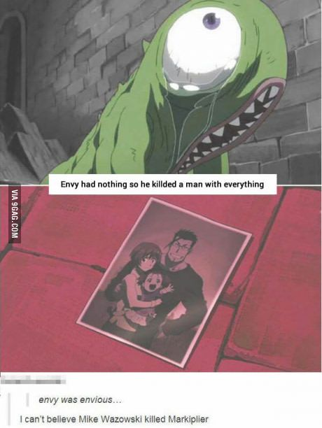 The truth about envy, wait what?