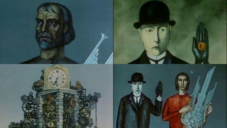 旧ソ連で唯一「発禁処分」を受けていた幻のアニメーション作品「Glass Harmonica」 - GIGAZINE