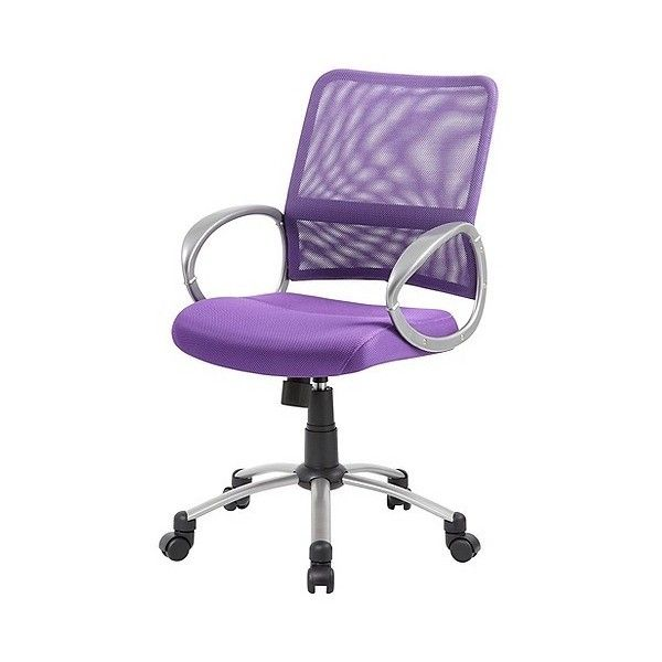 Boss Mesh Swivel Chair (850 DKK) ❤ liked on Polyvore featuring home, furniture, chairs, office chairs, purple, spinning chair, purple desk chair, mesh office chair, purple swivel desk chair and swivel chairs