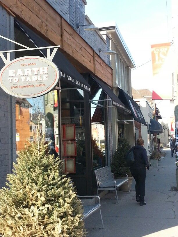 EARTH TO TABLE ,  Hamilton, ON - SHOWN ON YOU GOTTA EAT HERE!