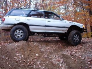 Lifted Legacy Wagon