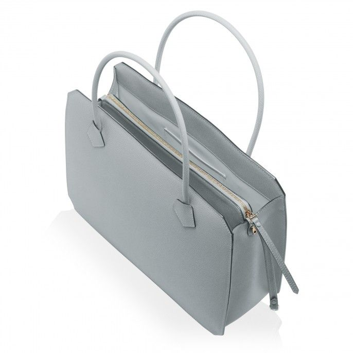 BORSA LAVORO FONTANA, color: Smokey Blue - Shoulder Bags |  Valextra