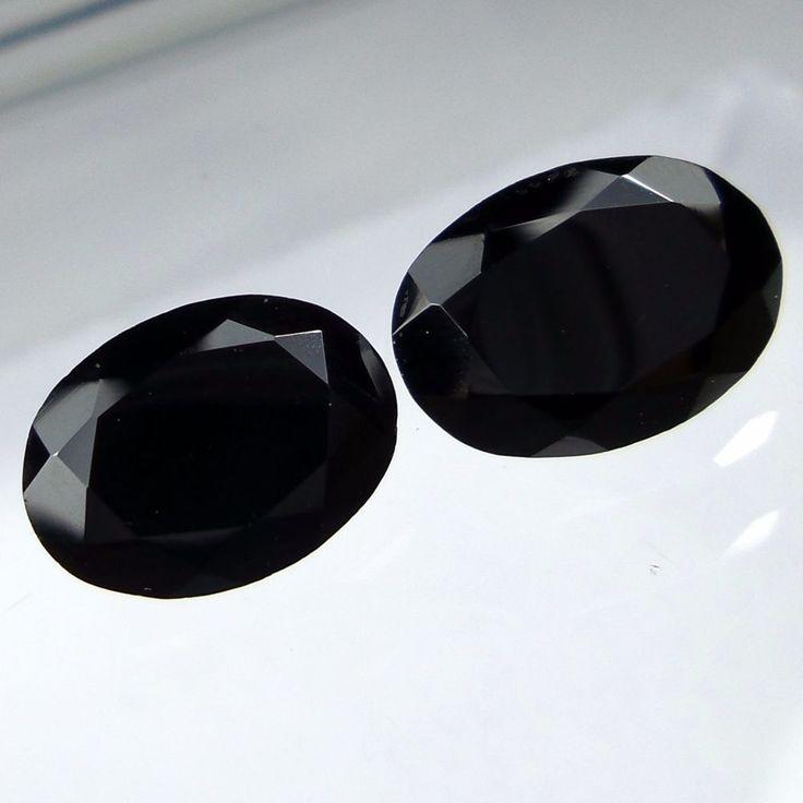 9x7 MM 5.3 Carat Natural Black Spinel Faceted Oval Shape Cut Stone Gemstone #Unbranded