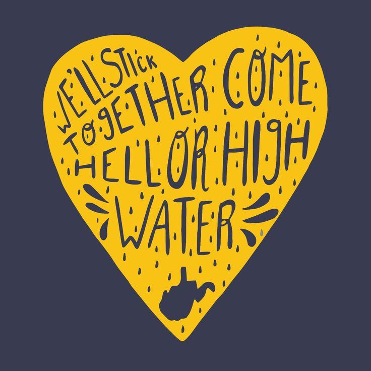West Virginia. West Virginia Floods. Fundraising Idea.